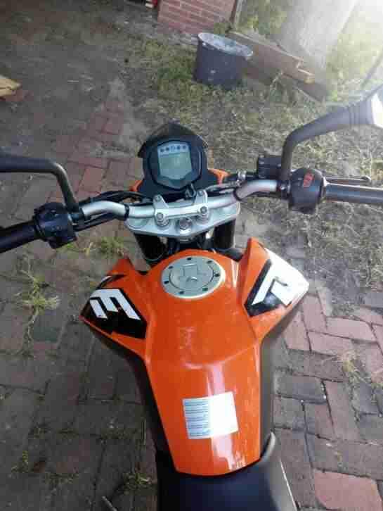 Motorrad KTM Duke 125ccm
