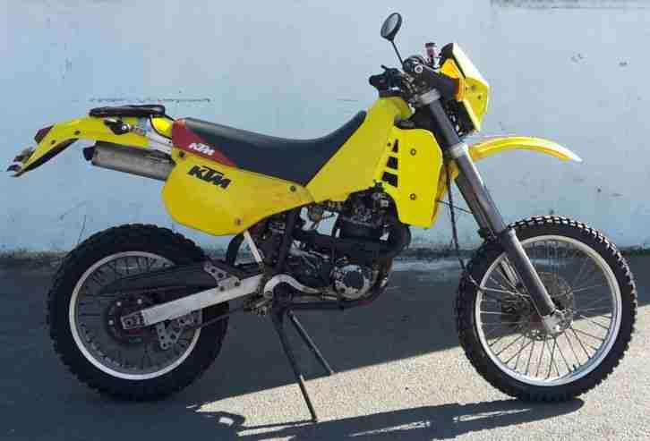 Motorrad KTM ER 600 LC4 Kickstarter 17kw fahrtüchtig