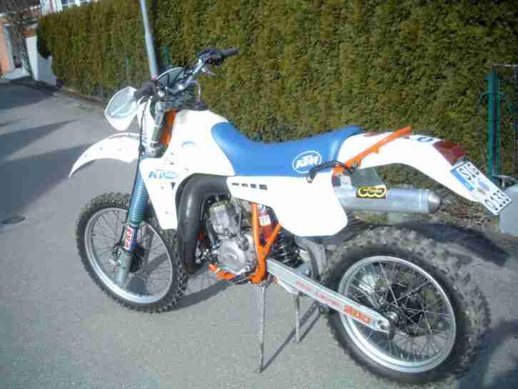 Motorrad KTM GS 250 BJ 1985