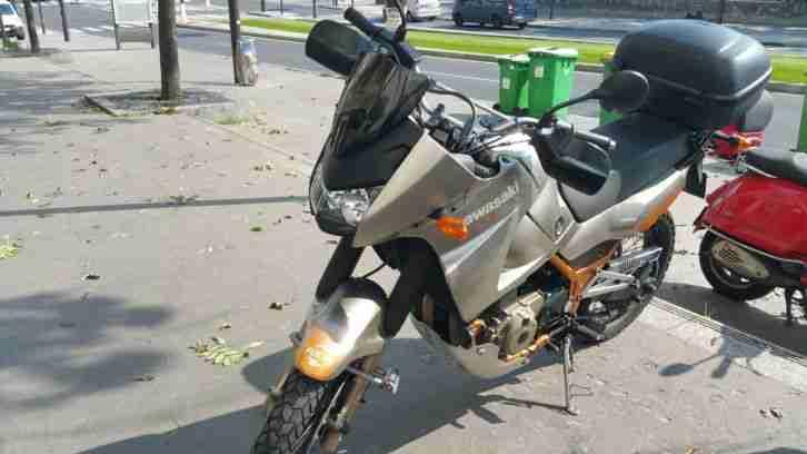 Motorrad Kawasaki KLE 500 grau sehr guter Zustand mit TÜV