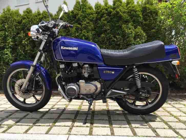 motorrad kawasaki z 750 t v neu blau bestes angebot