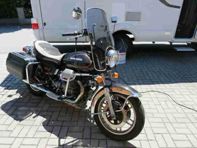 Motorrad Moto Guzzi California T2 Oldtimer Orginal Baujahr 1983