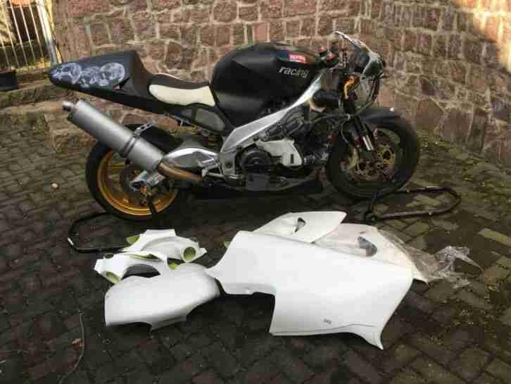 Motorrad Renn Maschine Aprilia