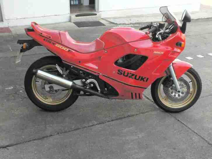 Motorrad Suzuki GSX 600F