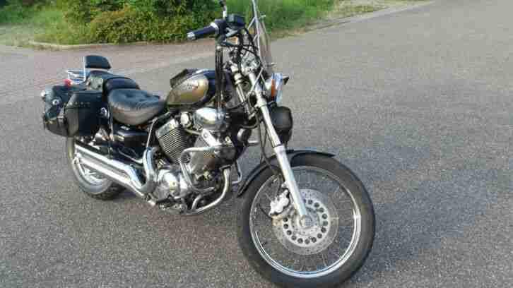 Motorrad Yamaha 535, Bj 98, 33 000 km, TÜV 2021