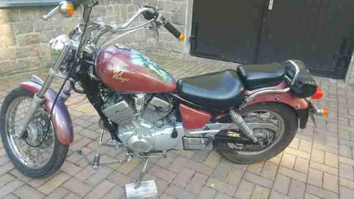 Motorrad Yamaha XV Virago