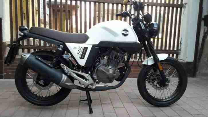 Motorrad Zipp Kiden 125 V Cafe Racer Euro 4 Neuwertig ! Mit 33 KM !