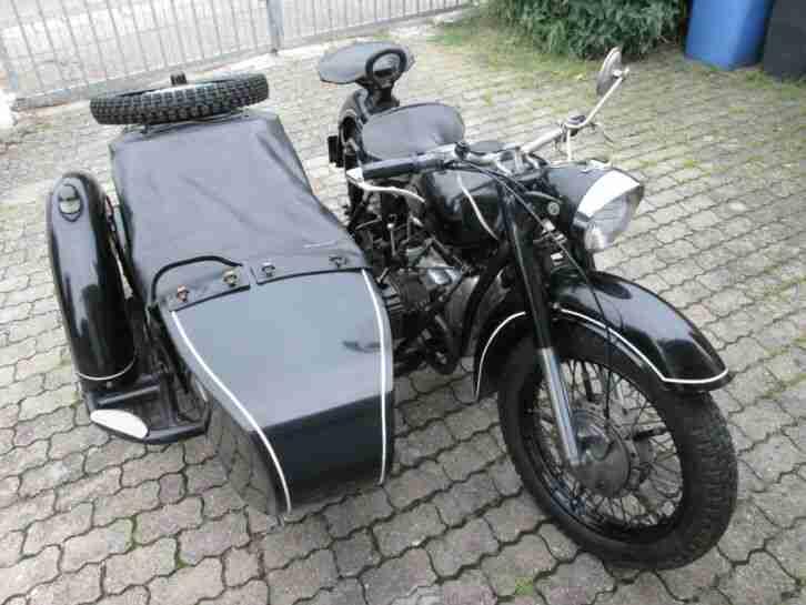 Motorrad mit Beiwagen Gespann K 750 Molotov das BMW Urgestein aus Russland