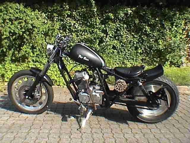Motorrad mit Hand Gang Schaltung Fuß Kupplung !!