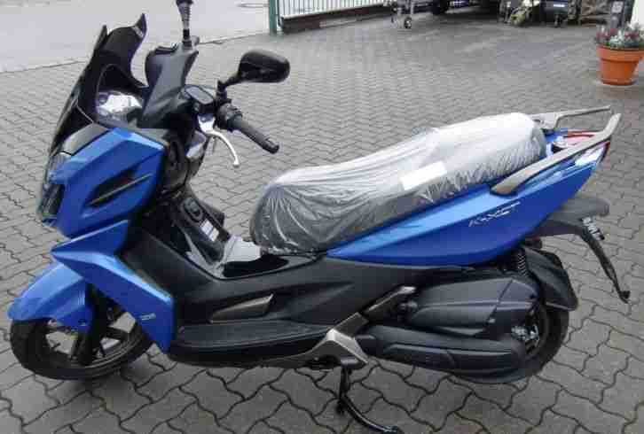 motorroller 125ccm kymco k xct 125i leuchtend bestes angebot von roller. Black Bedroom Furniture Sets. Home Design Ideas