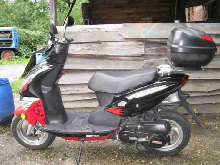 motorroller 4 takt marke baotian bj 2009 km bestes. Black Bedroom Furniture Sets. Home Design Ideas