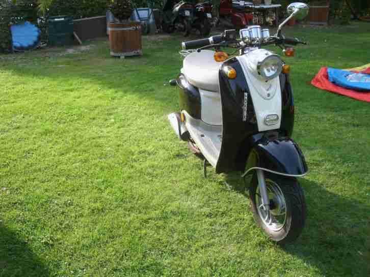 motorroller 50ccm 25 kmh jack fox yy50 qt 15 bestes angebot von roller. Black Bedroom Furniture Sets. Home Design Ideas