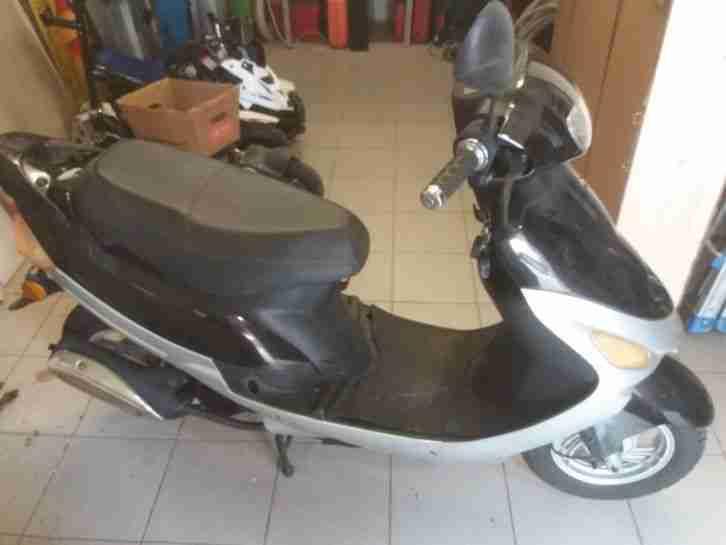 Motorroller 50ccm YIYING YY50QT 01