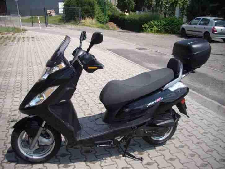 motorroller kymco 50 ccm 4 takt sehr guter bestes. Black Bedroom Furniture Sets. Home Design Ideas