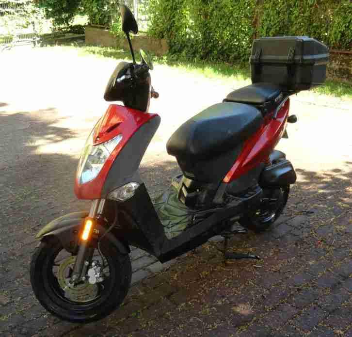 Motorroller kymco agility 50 ca 18500 km ez bestes for Roller potsdam