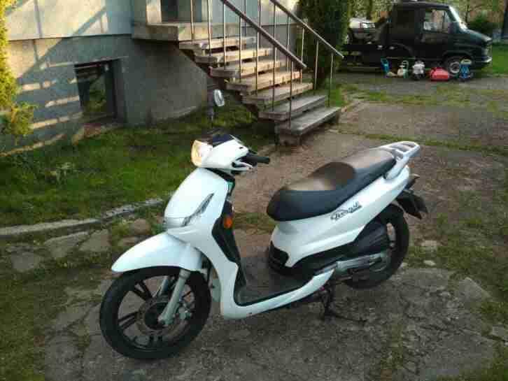 Motorroller Peugeot Tweet 50ccm 4 takt Grossradroller Roller Liberty 50cc