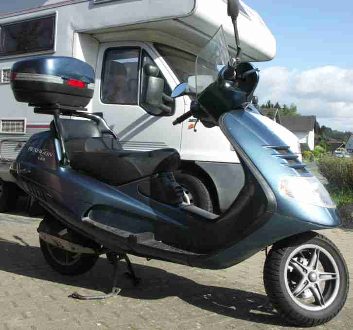 motorroller piaggio hexagon lx4 4 takt bj 1998 bestes. Black Bedroom Furniture Sets. Home Design Ideas