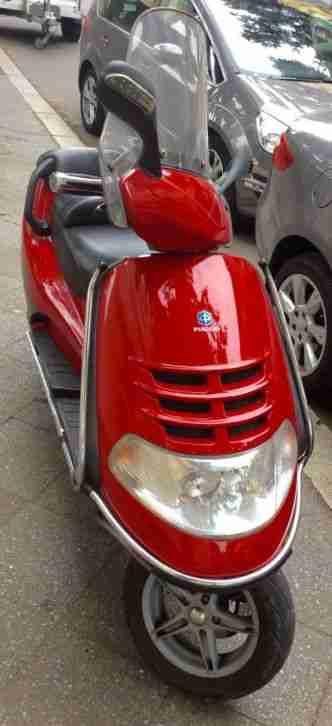 Motorroller Piaggio Hexagon, Luxus 180 Roller - Bestes Angebot von Piaggio.