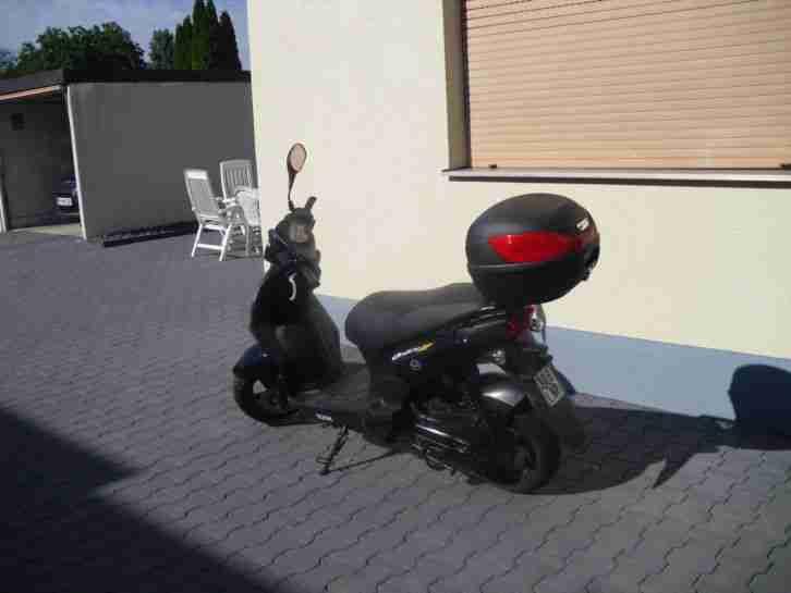 motorroller sym orbit 2 50ccm bestes angebot von roller. Black Bedroom Furniture Sets. Home Design Ideas