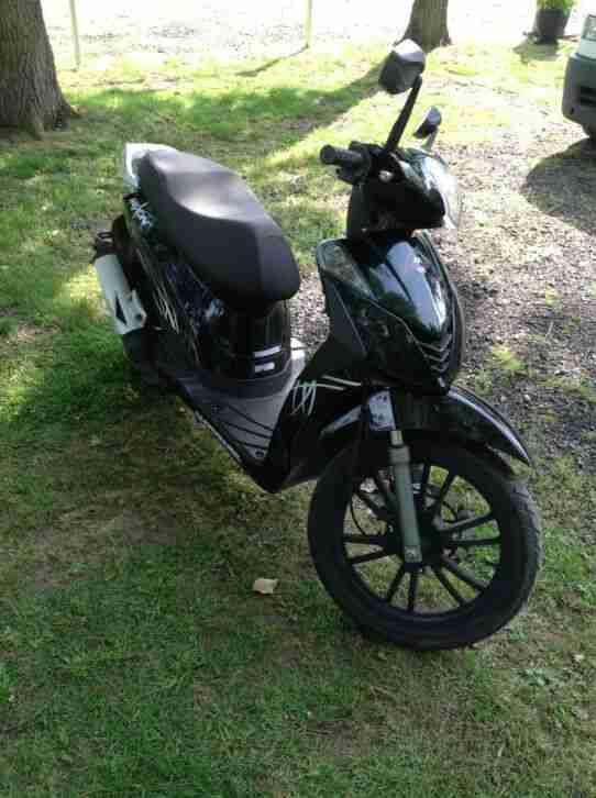 Motowell MEX ON 50 2 Takt Roller Motorroller Mexon Umweltzone Frei