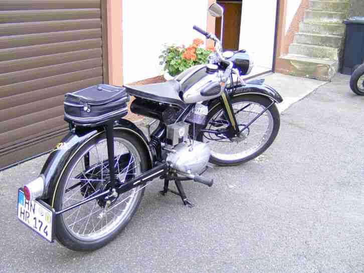 nsu fox moped 125ccm 4takt general berholter bestes. Black Bedroom Furniture Sets. Home Design Ideas