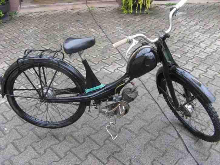 NSU Quickly Mofa Moped Bj 1960, Oldtimer, fast komplett