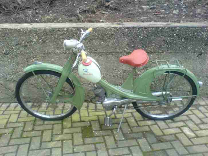 NSU Quickly S Oldtimer Moped im Originalzustand
