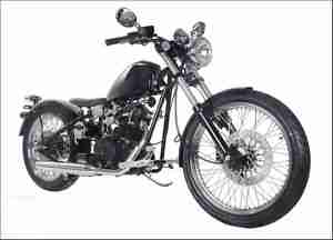 Old school Bobber 250 ccm NEU Straßenzulassung by Scott Colosimo