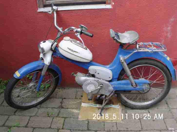 Oldimer Puch MS 50 Baujahr 1976