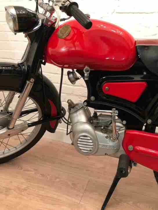 Oldtimer Moped Rixe RS 50 Vintage Mokick aus 1960 Top Design, seltenes Modell