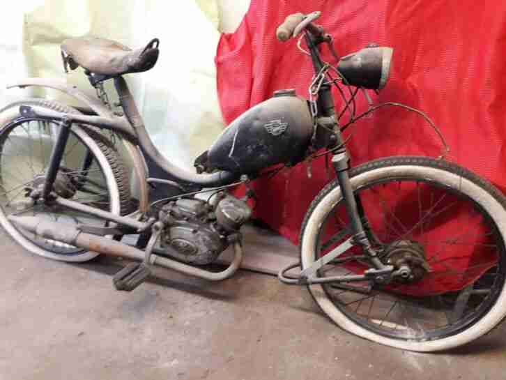 Oldtimer Moped Rixe