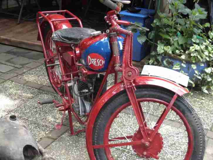 oldtimer moto dresch mit mag motor 1930 bestes. Black Bedroom Furniture Sets. Home Design Ideas