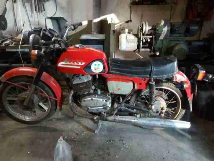 Oldtimer Motorrad Cezet 175