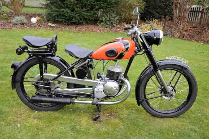 Oldtimer Motorrad Tornax K 125 Von 1950 Bestes Angebot