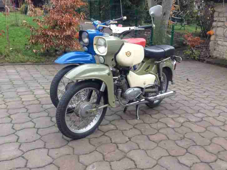 Original DDR Simson 4 Gang Habicht SR 4-4 1973 + Sperber SR 4-3 1970 Moped