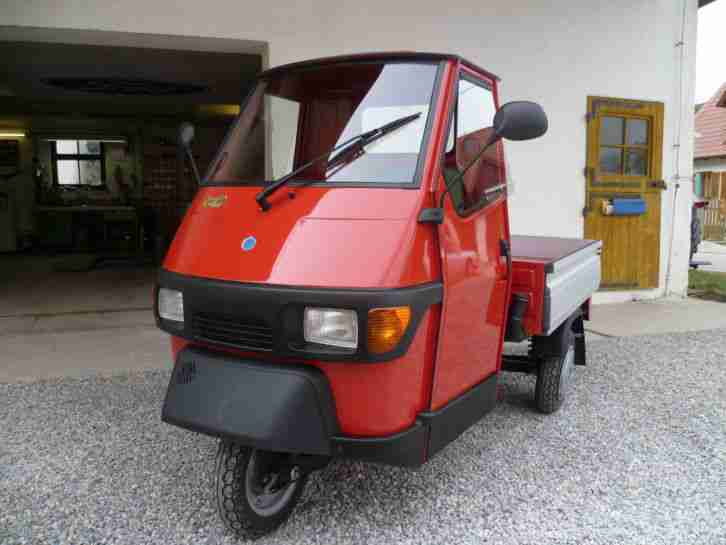 piaggio ape 50 alubordw nde neuzustand 480 km bestes. Black Bedroom Furniture Sets. Home Design Ideas