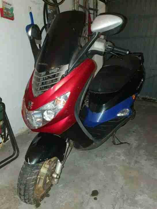 Peugeot ELYSTAR Roller Moped Bj. 2002