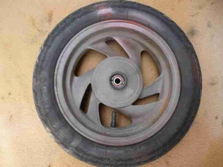 Peugeot SV 50 80 125 Hercules SR Samba Roller Vorderrad original Felgen Reifen