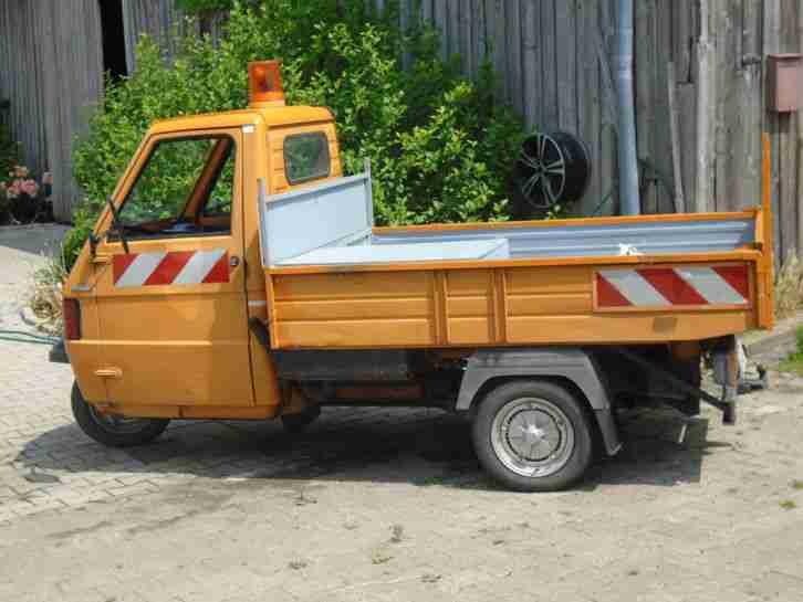 Piaggio Ape TM 703 Diesel Kipper