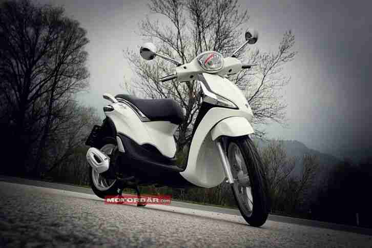 Piaggio Liberty 125 ie 125ccm Roller weiß weiss ABS i-get / Netto €2082,-