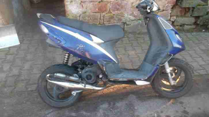 Piaggio NRG Roller Bastler Stage 6 Tunning