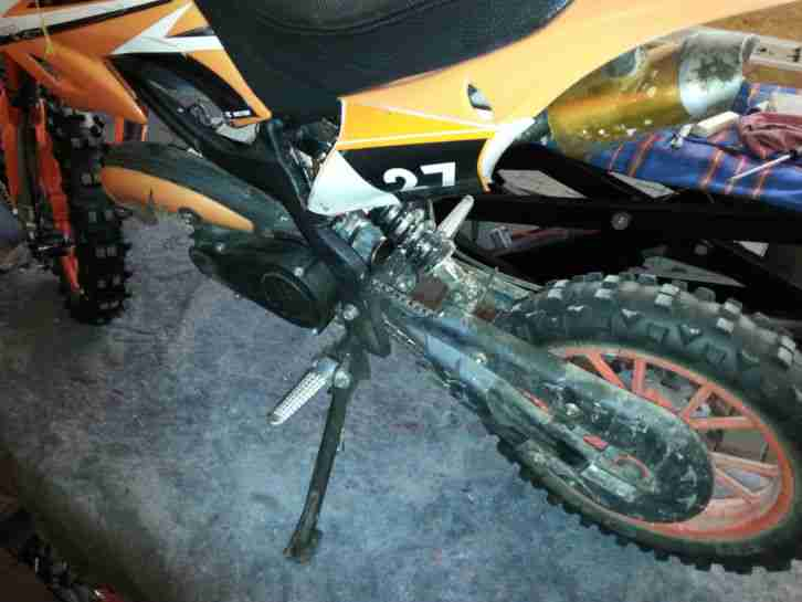 Pocket Bike 10 Zoll DEFEKT An Bastler