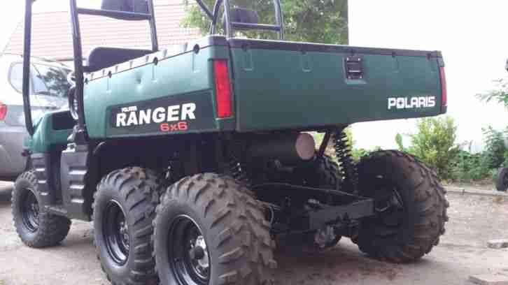 polaris ranger 6x6 700efi kipper quad atv buggy bestes. Black Bedroom Furniture Sets. Home Design Ideas