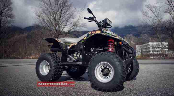 Polaris Scrambler 500 Quad ATV