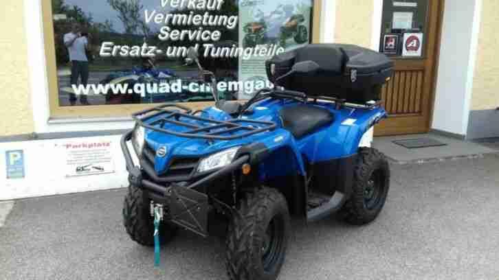 QUAD ATV CFMoto 450 4x4 EFI IRS Euro4