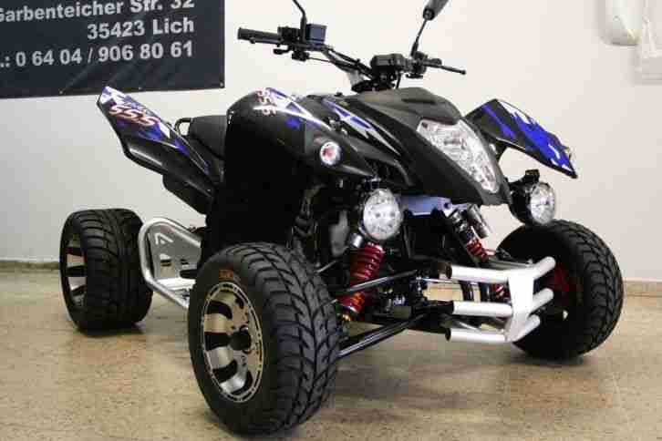 quad atv spy racing 350ccm 120km h 6 gang neues bestes. Black Bedroom Furniture Sets. Home Design Ideas