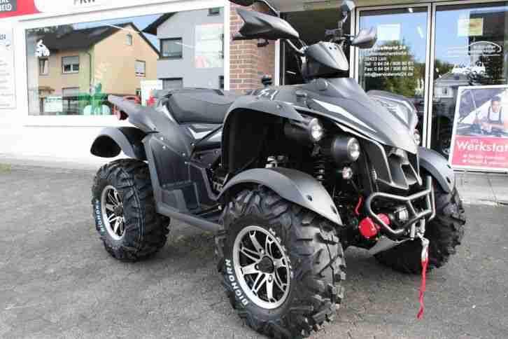 QUAD ATV TGB TARGET 600 EFI IRS 4x4 LOF BLACK EDITION NEU VERSANDKOSTENFREI