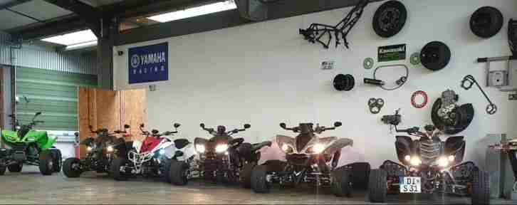 Quad 4 Zylinder Umbaukit, Raptor 700, LTZ, KFX 400, Triton 450 Angebot