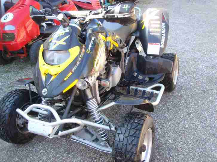 Quad ATV Bombardier Can AM DS 650