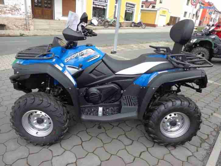 quad atv cfmoto c force 550 efi 4x4 500ccm bestes. Black Bedroom Furniture Sets. Home Design Ideas